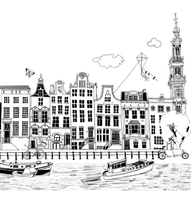 Amsterdam For Joolz Newspaper