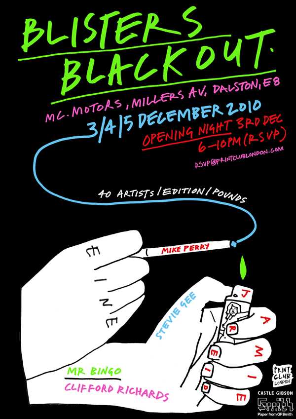 Blackout Blisters, The Print Club