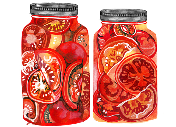 17th October, canned toms