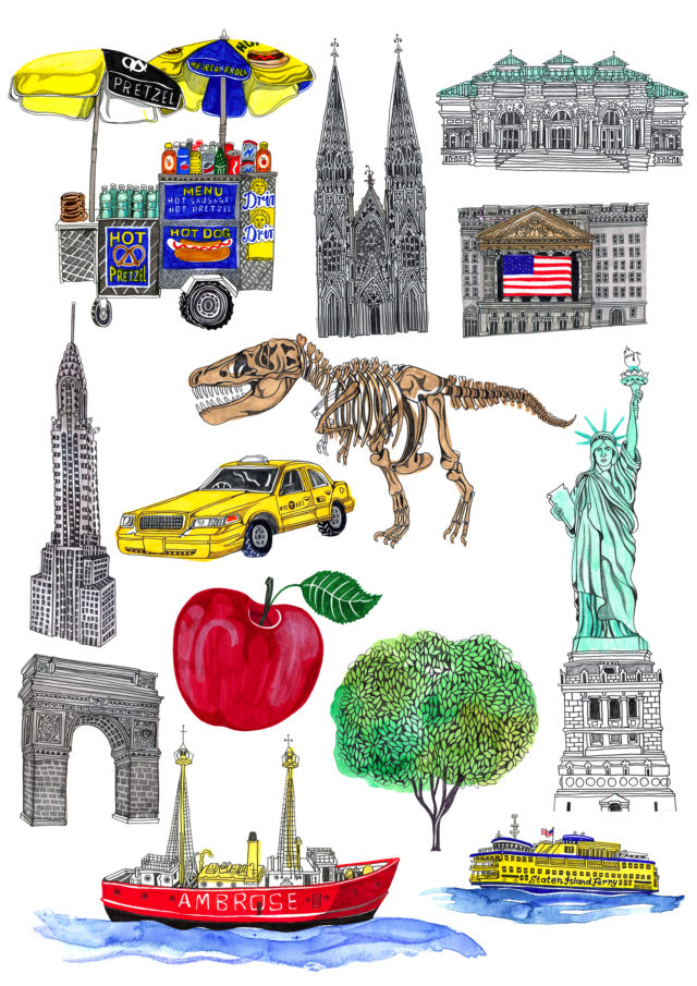 bits from NYC map