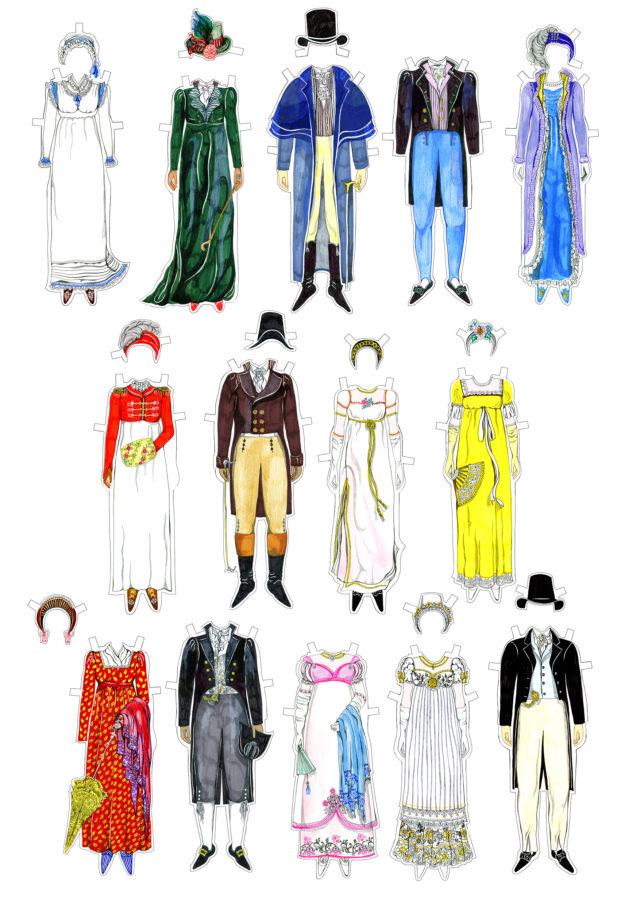 regency paper dolls